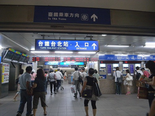 你拍攝的 B3台鐵入口區。
