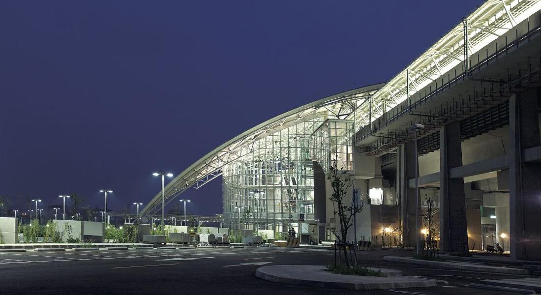 高鐵新竹站 高度 外觀