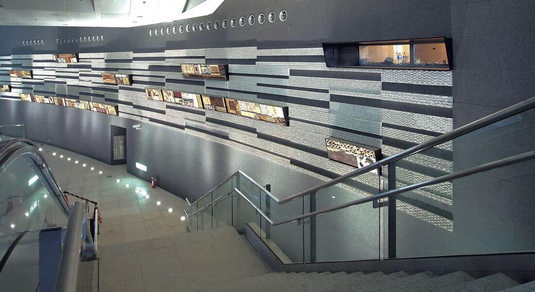 高鐵新竹站 高度 內部